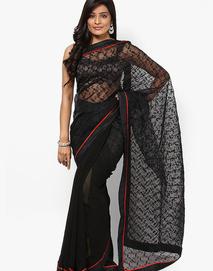 Sangria Black Sarees