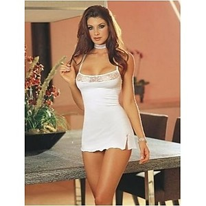 Lovebitebd Stretch Bodycon Mini Dress Sleepwear Nightwear For Women