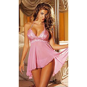 Lovebite Women's Transparent Sexy Nightwear with G String