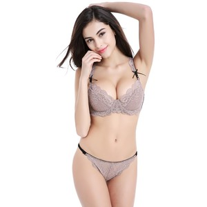 Lovebite Ultra-thin models sexy lace lady Bra Sets