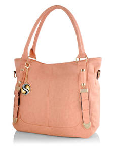 Orange handbags