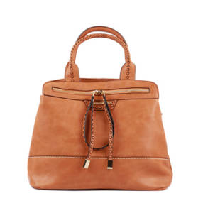 Tan fashion handbag