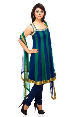 Silk Salwar Suit Dupatta