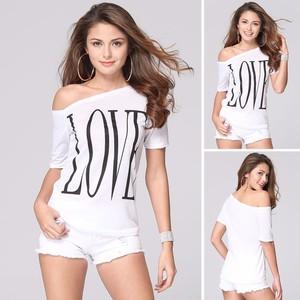 Love Letter Print T-Shirt