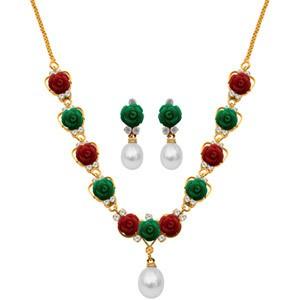 Delicate Moonstone Necklace set