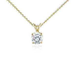 Diamond Pendant in 18k Gold