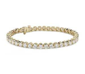 Diamond Tennis Bracelet 18k Yellow Gold