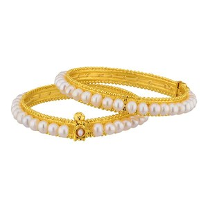 Pleasure pearl bangles for women