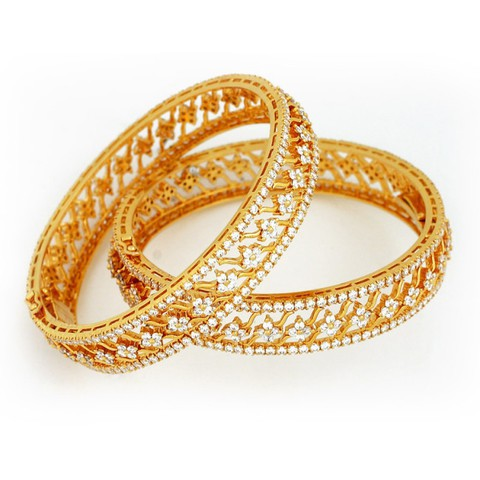 Gold bangles new trendy style design