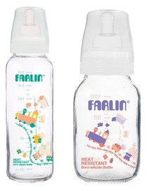 FARLIN 120 cc Feeder with-Anti colic silicone nipple