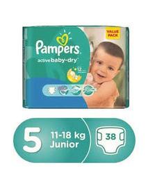 Pampers 5 junior(38)