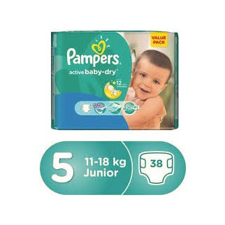 Pampers 5 junior(38)