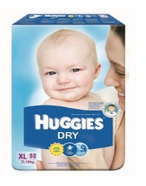 Dry Diapers XL/48 pcs