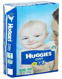 Dry Diapers XXL/40 pcs