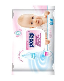 Pozzy Baby Wipes (Wet Towel Wipes)