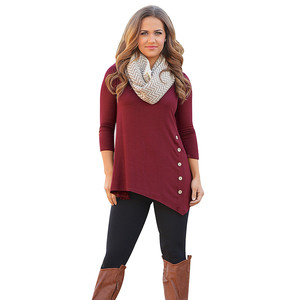 Lovebite Solid Loose Long Sleeve Cardigan Knitted Jumper