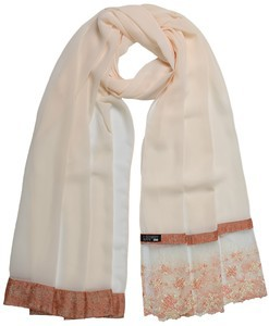 ILM Butter Milk Georgette Hijab