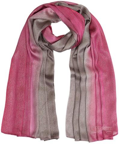 Oversize Ombre Mocha & Hot Pink