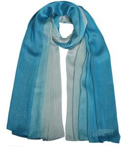 Oversize Ombre Aqua Shimmer Hijab