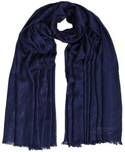 Glitter Navy Blue Maxi Hijab