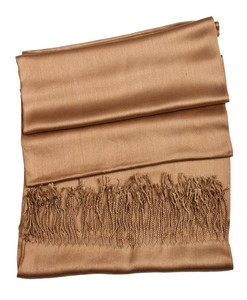 Metallic Gold Cashmere Hijab