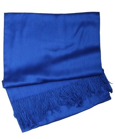 Royal Blue Cashmere Hijab