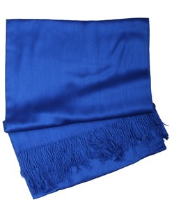 Royal Blue Cashmere Hijab