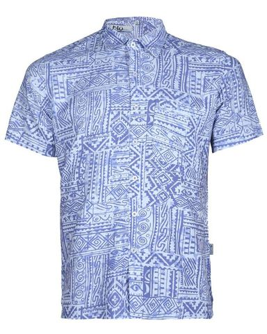 Viscose Casual Short Sleeve Shirt