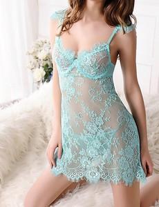 Lovebite Women Chemises & Gowns Nightwear,Lace / Spandex
