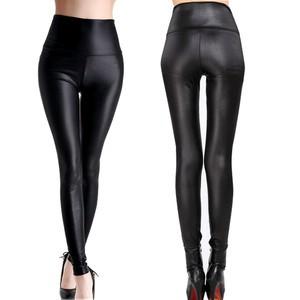 Lovebite Womens Black Sexy Leggings Stretch High Waist Pants