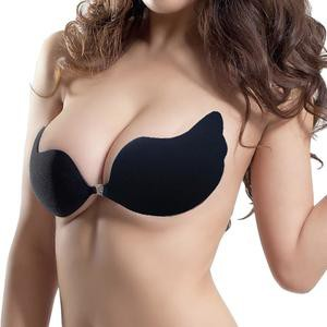 Lovebitebd Silicone Adhesive Stick On Backless Push Up Strapless Invisible Bras For Women