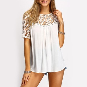 Lovebitebd Lace Sleeve Shirts For Women