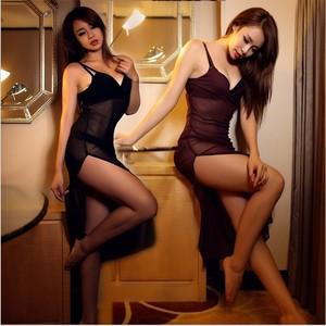 Lovebitebd Soft Yarn Condole Belt Nightgown Sleepwear For Women