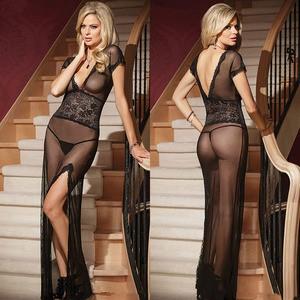 Lovebite Erotic Long Lingerie Women Sexy Nightwear