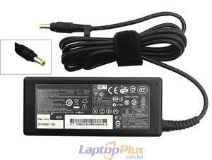 HP laptop charger Adapter 18.5V 3.5A 65W Yellow Port