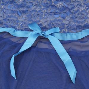 Lovebite Women Bow Underwear Babydoll Sleepwear Dress G-string Nightwear