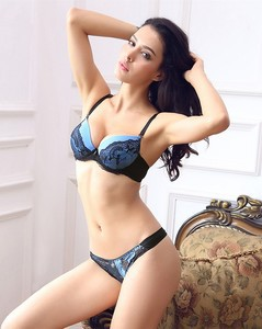 Lovebitebd Embroidered Lace Bra Sets For Women