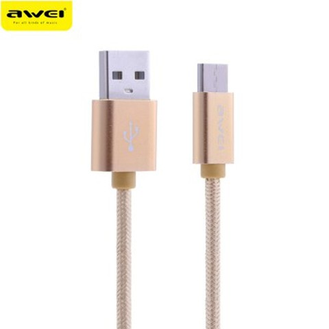 Awei CL - 960 1M USB 3.0 Type-C Data Cable