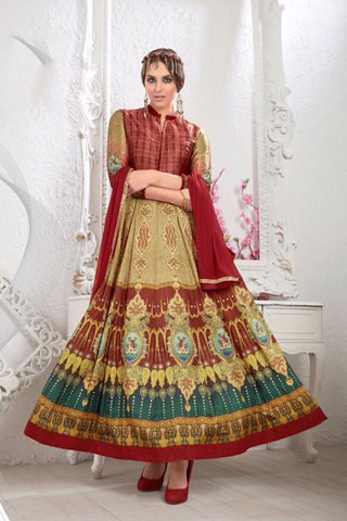 Deepsy Suits Zeenat Anarkali