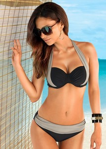 Lovebitebd Bandage Padded Swimwear Bikini For Women
