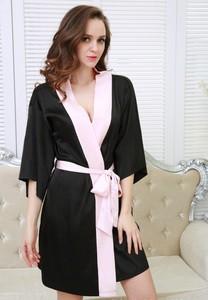 Lovebite Sexy Satin Night Robe