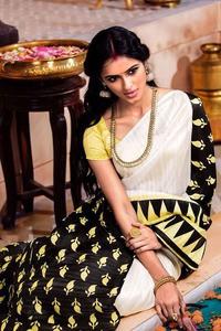 YNF Aura Tussar Silk