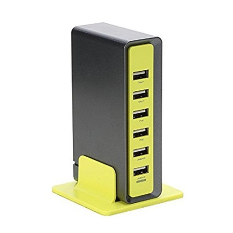 Rock Rocket Desktop Charger (Six Port)