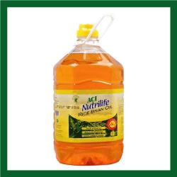 ACI Rice Brand Oil (এ সি আই রাইস ব্র্যান্ড তেল) - 5litre
