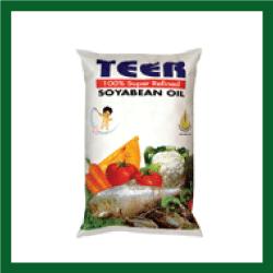 Teer Soyabin Oil Poly (তীর সয়াবিন তেল পলি) - 1litre