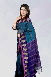 Silk Lehenga Jamdani