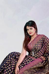 Half Silk Jamdani