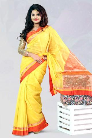 Silk Gadoyan - Tangail Saree