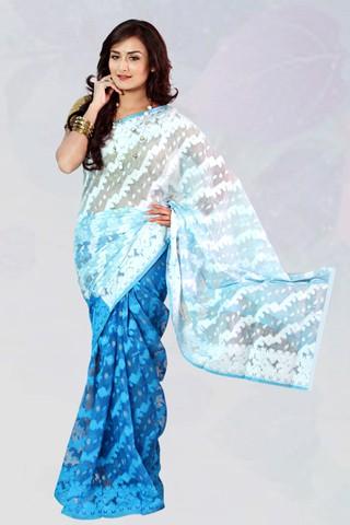 Silk Jamdani
