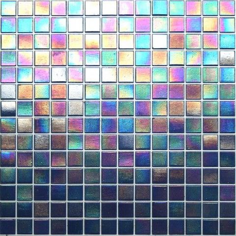 Glass Tile and Stone Iceland Mosaic